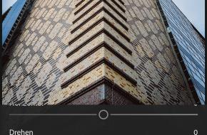 Perspektivkorrektur in Lightroom mobile