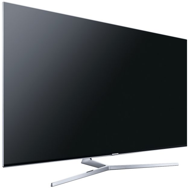 Test Samsung UE65KS8090 Schraegansicht links