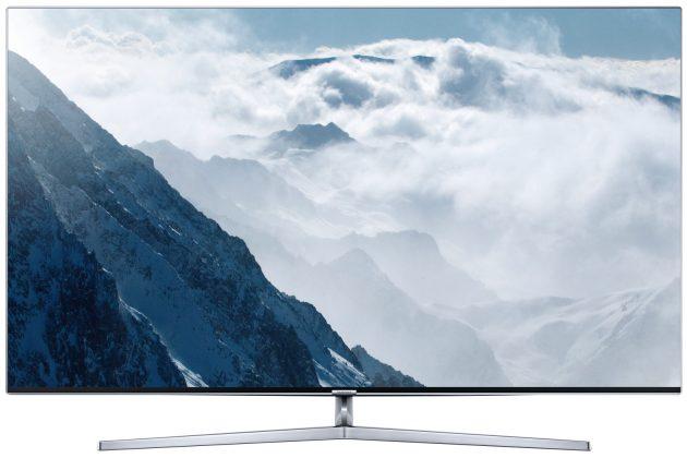 Test Samsung UE65KS8090 Vorderseite Bild