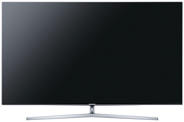 Test Samsung UE65KS8090 Vorderseite Display aus