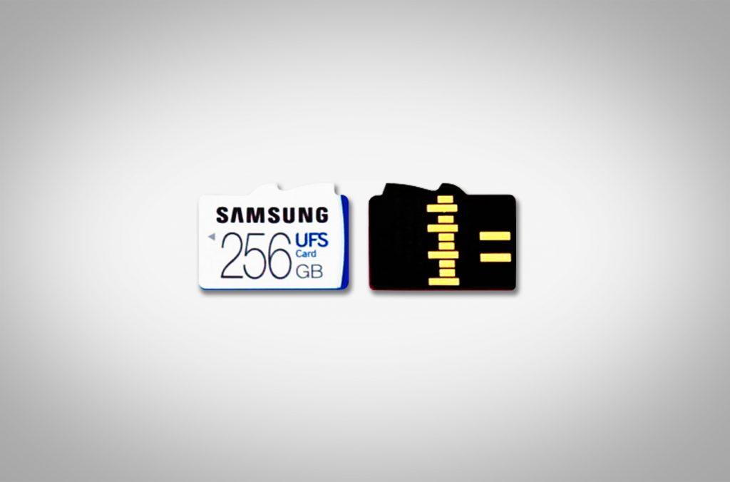 Samsung stellt schnelle UFS-Speicherkarten mit bis zu 256GB vor