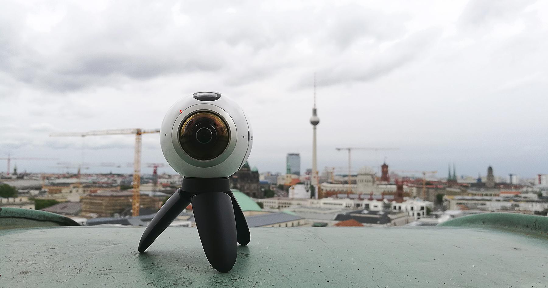 Virtual Reality: Die Gear360 von Samsung im Praxistest