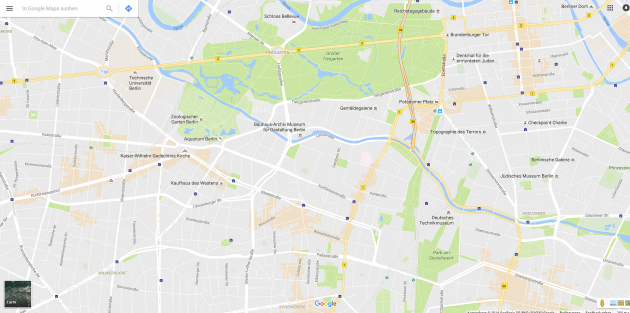 Update: Google Maps hat ein neues Design