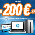 PC Refresh – Bis zu 200 € auf ausgewählte HP Tablets, Notebooks und PC-Systeme sparen