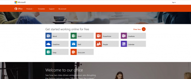 Alternative zu teurer Software: Microsoft Office online