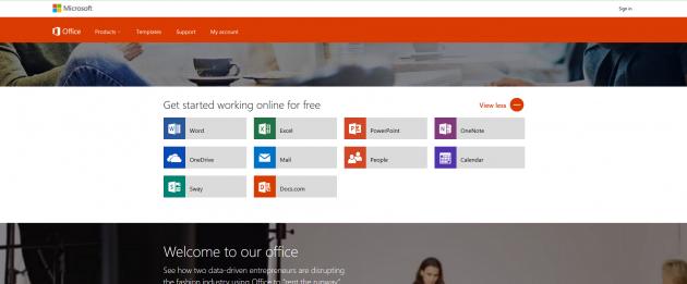 Alternative zu teurer Software: Microsoft Office online
