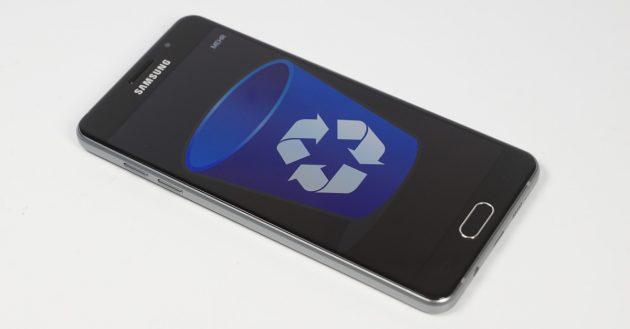 Android Flash-Speicher loeschen