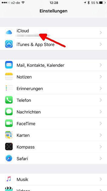 Apple Fotofreigabe 01 Einstellungen
