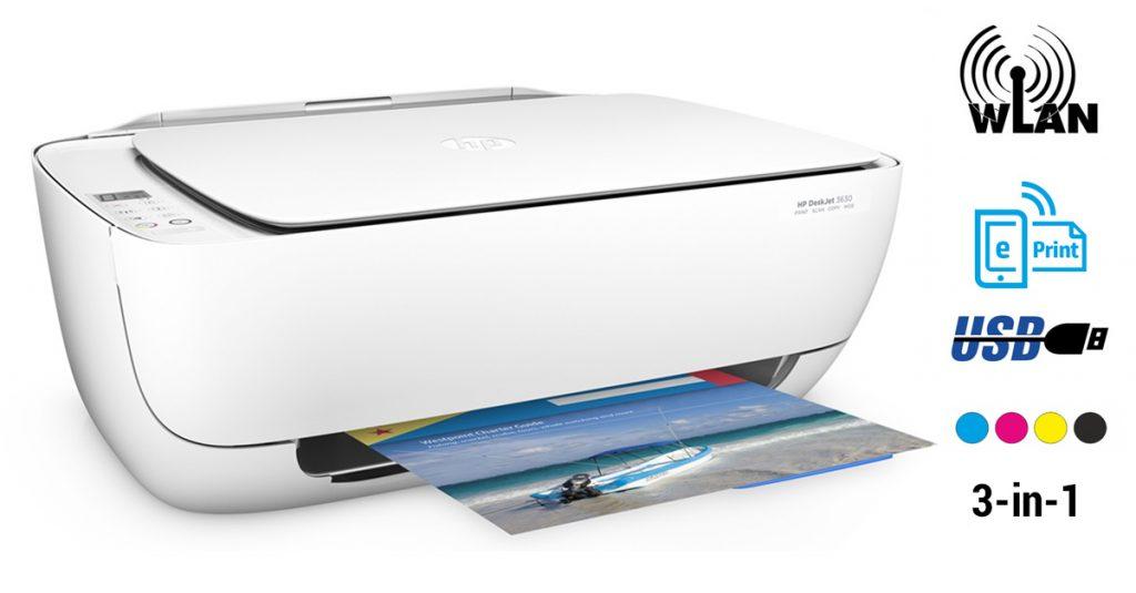 HP Deskjet 3630: günstiger Multifunktionsdrucker im Kurztest