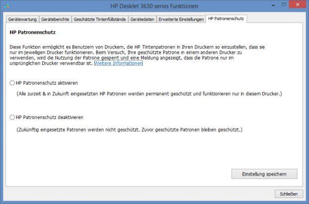 HP-Deskjet-3630-Patronenschutz