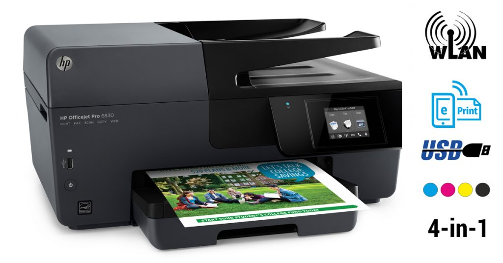 Kurztest: HP Officejet Pro 6830 Tintenstrahl-Multifunktionsdrucker