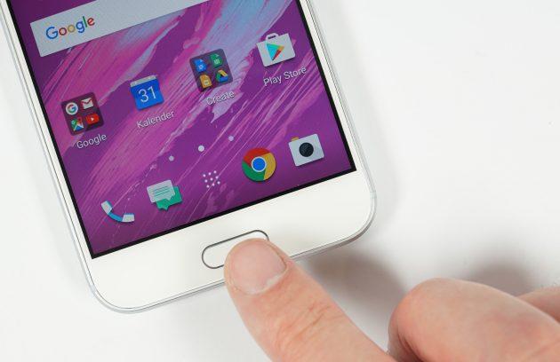 HTC 10 Fingerabdruckscanner