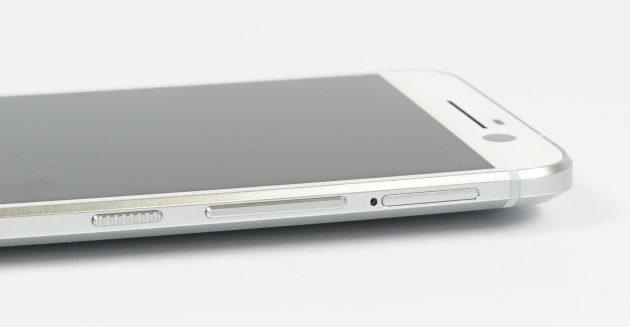 HTC 10 von Bedienelemente