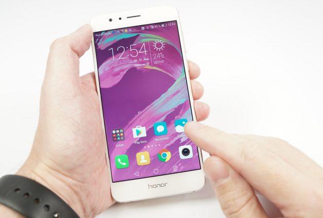 Huawei Honor 8 Bedienung