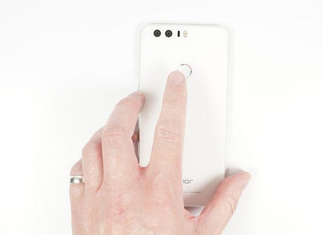 Huawei Honor 8 Fingerabdruckscanner