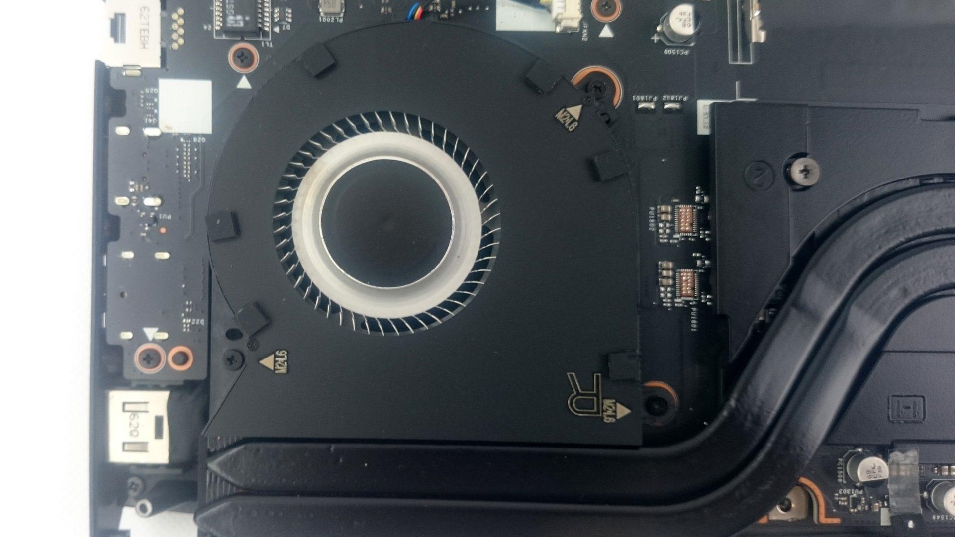 Lenovo Y900-17ISK – Belüftungssystem