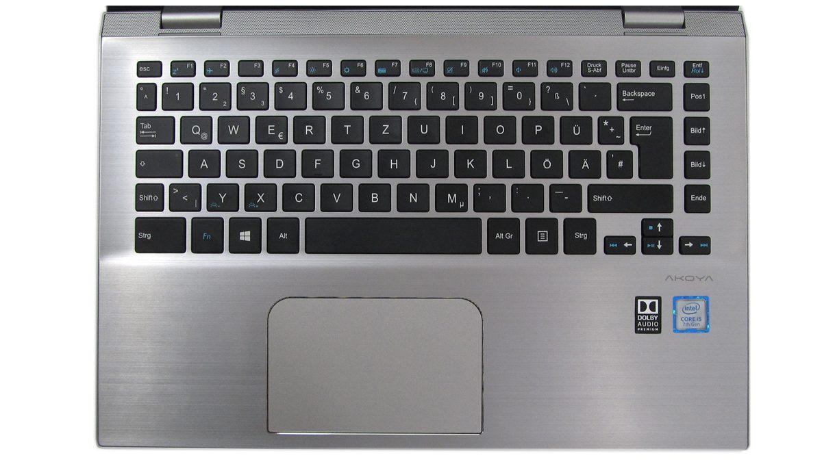 Medion_Akoya_S3409_Tastatur