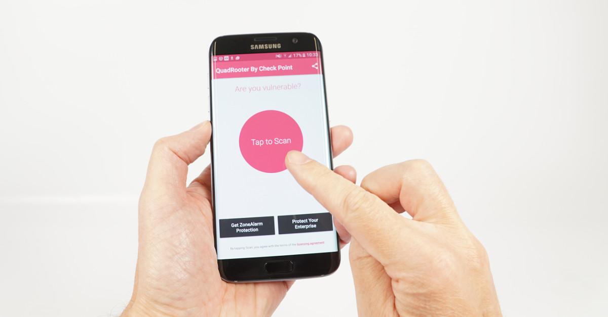 QuadRooter Scanner App zeigt Sicherheitslecks in Android