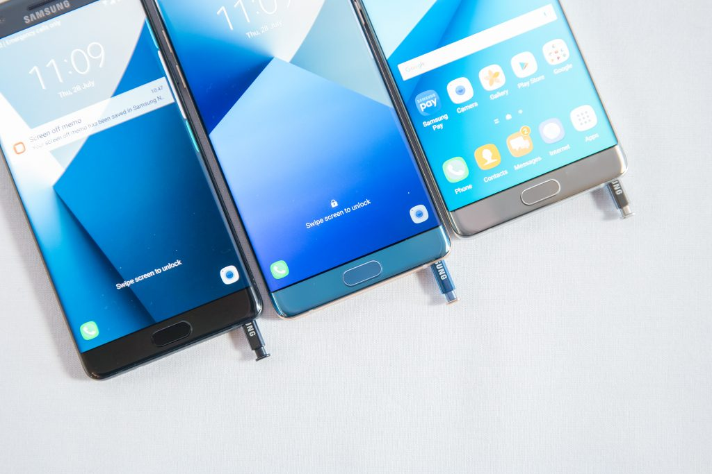 Samsung Galaxy Note 7 vorgestellt