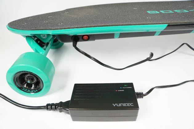 Yuneec E-GO 2 Cruiser Aufladen