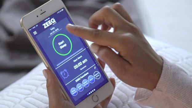Zeeq Smartes Kopfkissen App