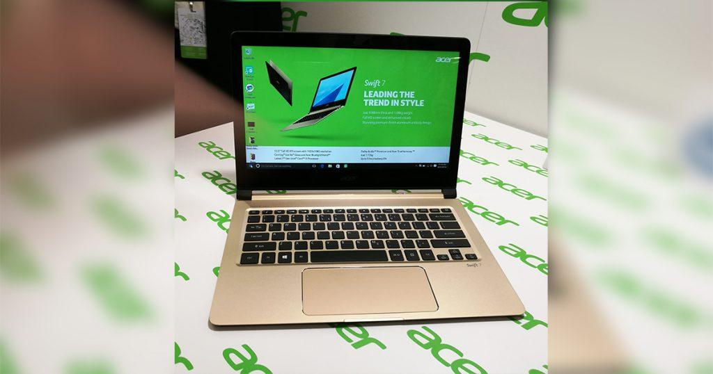 IFA 2016: Acer stellt das dünnste Notebook der Welt vor