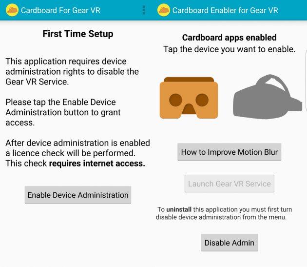 Die App CB Enabler for Gear VR ist die einfachste Möglichkeit, Titel aus dem PlayStore auf der Samsung Gear VR nutzen zu können. Die Auswahl an Apps erhöht sich damit drastisch.