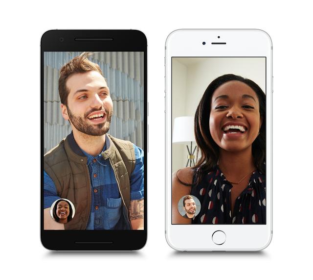 """Google """"Duo"""", eine simple Videotelefonie-App"""