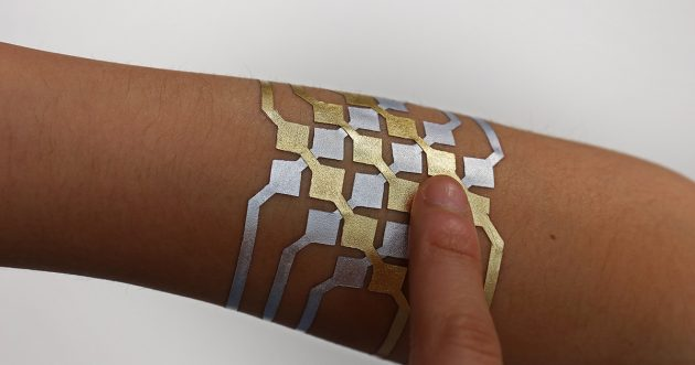 DuoSkin Tattoos zur drahtlosen Steuerung von Geräten