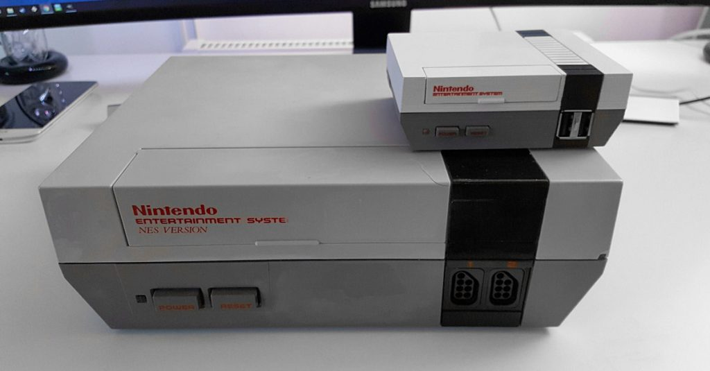 Nintendo Classic Mini mit Modulschacht im Eigenbau
