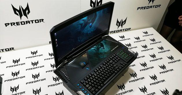 IFA 2016: Acer Predator 21 X, erstes Notebook mit Curved Display vorgestellt