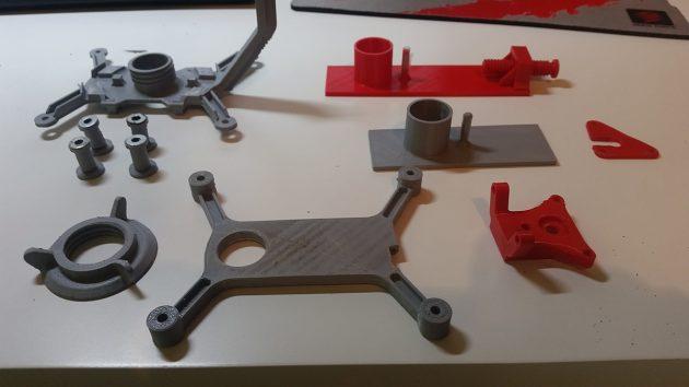 Mit 3D-Druck wurden notwendige Zusatzteile erstellt