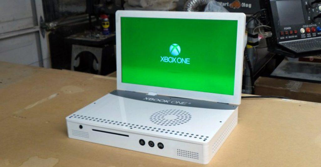 Xbox One S zur portablen Spielekonsole umgebaut
