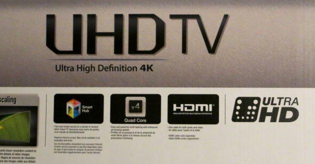 4K TV Logos