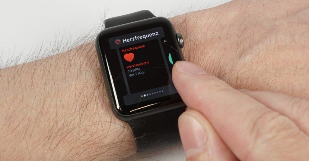 watchOS 3: Dock-Konfiguration der Apple Watch