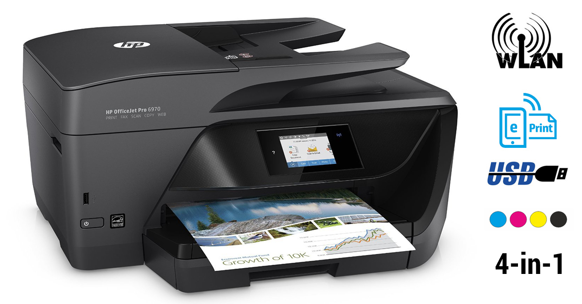 hp officejet pro 6970 instant ink multifunktonsdrucker im test. Black Bedroom Furniture Sets. Home Design Ideas