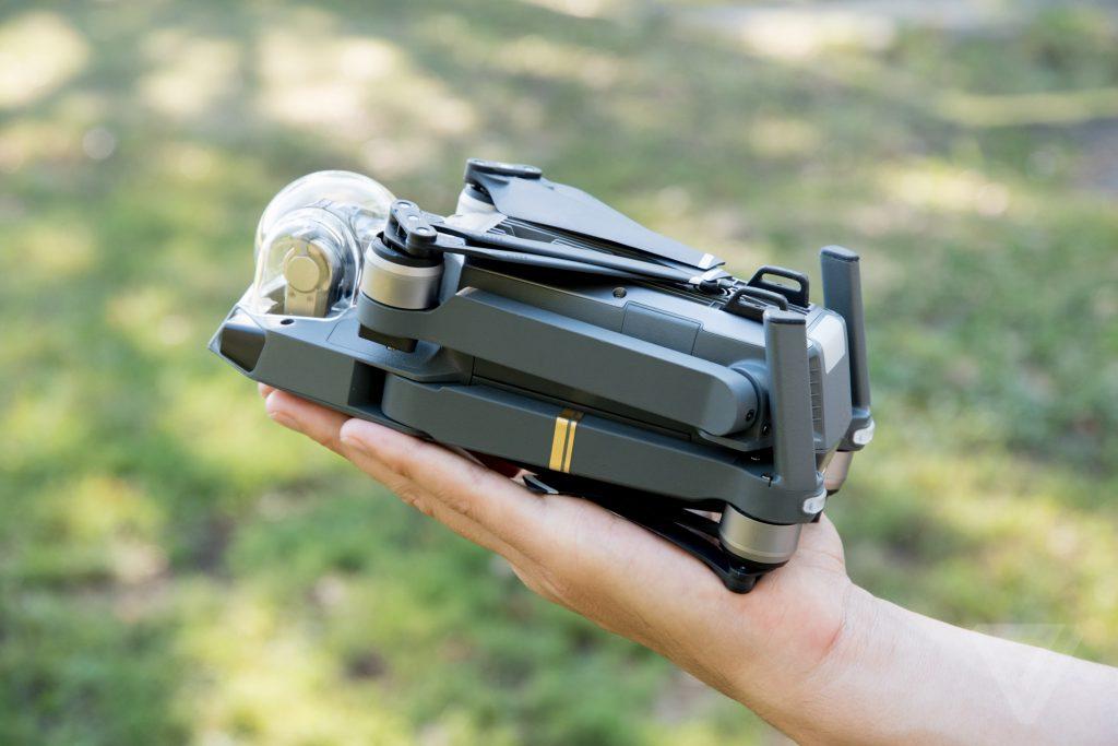 DJI Mavic Pro vorgestellt – kleine Drohne mit viel Ausdauer