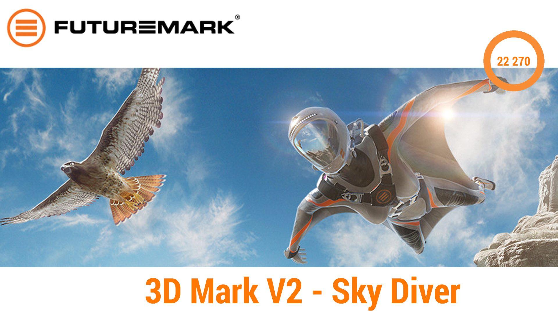 3D Mark V2 – Sky Diver
