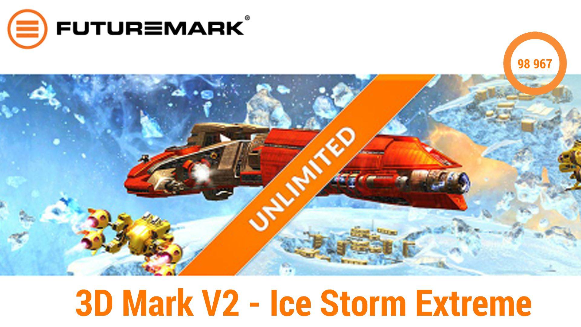 3D Mark V2 – Ice Storm