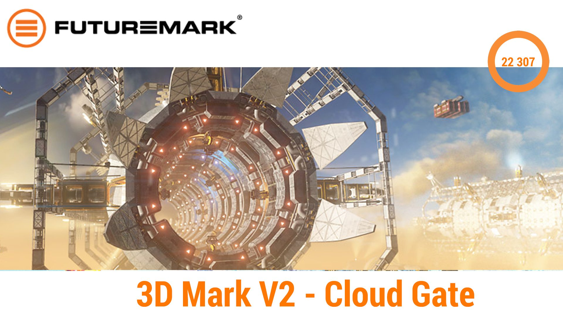 3D Mark V2 – Cloud Gate