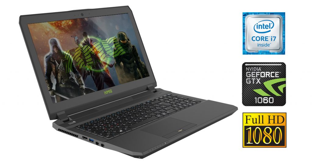 Schenker XMG P507-drk – Gaming-Notebook mit Geforce GTX 1060 im Test