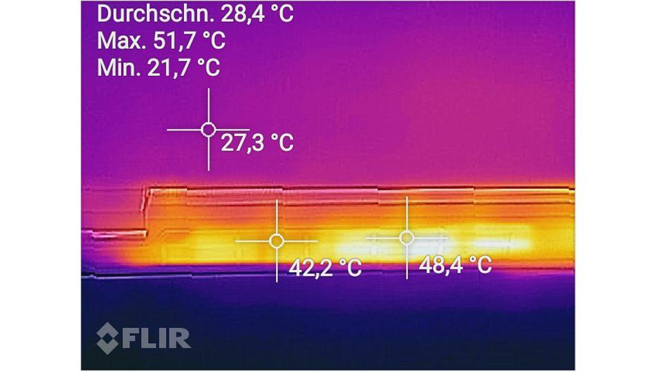 Hitzemessung Grafikkarte