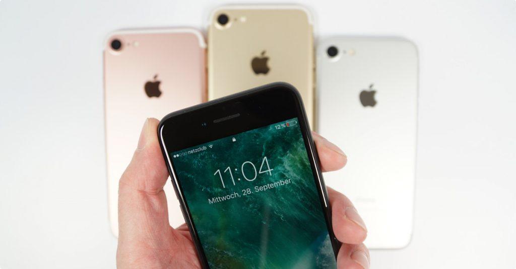 Test Apple iPhone 7: Sieben auf einen Streich