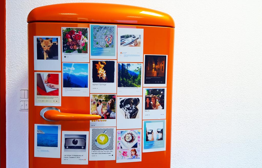HP Social Media Snapshots Papier und App im Test