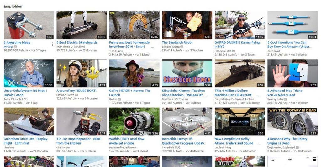 Gegen doofe Videos: YouTube-Videoempfehlungen zurücksetzen