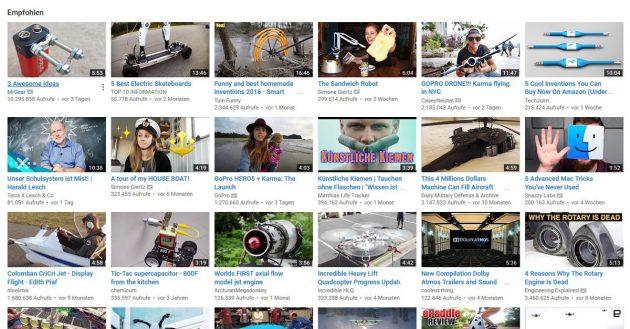 youtube-empfehlungen