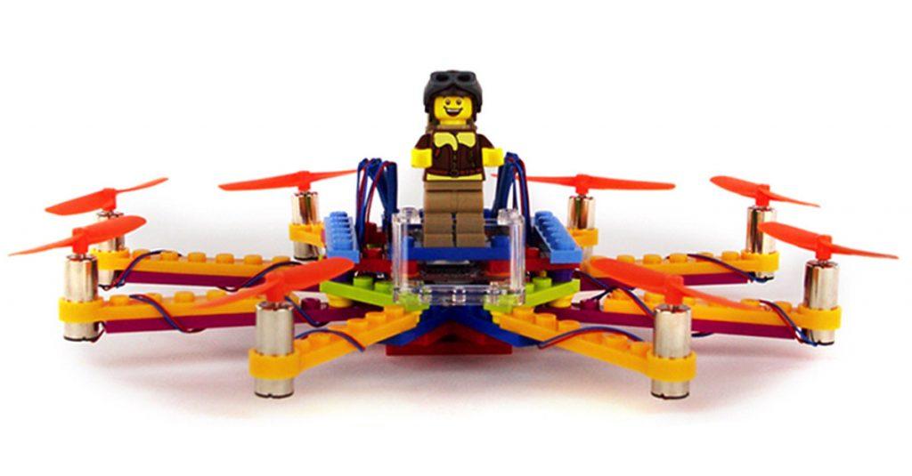 Flybrix: Drohne aus Lego selber bauen