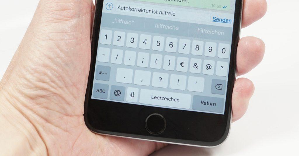 So beseitigt ihr Autokorrekturfehler unter Apple iOS
