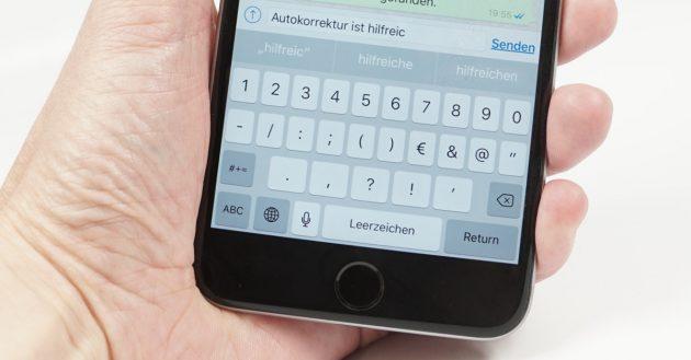 iOS Autokorrektur verbessern