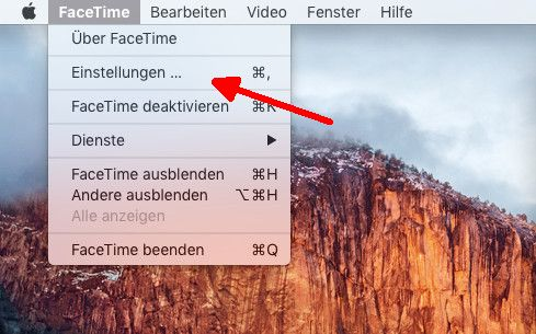 iPhone-Anrufe 04 FaceTime-Einstellungen Mac aufrufen